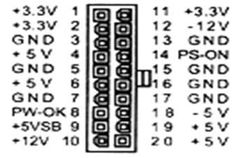 принципиальная схема блока питания atx